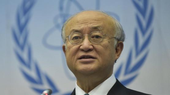 """""""Hackerattacken inzwischen Realität"""": Der Chef der Internationalen Atomenergiebehörde, Yukiya Amano. (picture-alliance / dpa / Hans Punz)"""