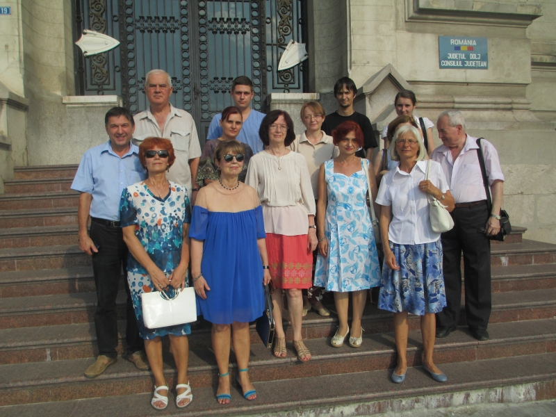 Members of the Civic Action Group Craiova